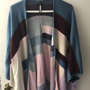 Tracy Reese Patterned Sweater/Poncho - XS